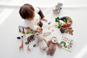 Image representing the service provider category: baby with toys