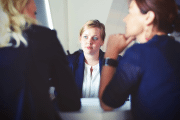 Image representing the course/event: Businesswomen meeting