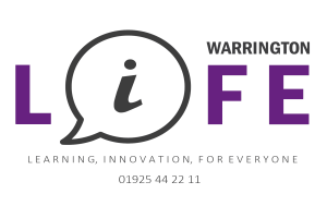 Image representing the service provider: Warrington Life Logo1 (06-12-2019_0758)