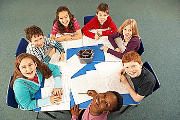 Image representing the course/event: Children sat around a table