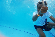 Image representing the service provider category: child swimming
