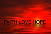 Image representing the course/event: faith love hope