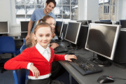Image representing the service provider: Child at Computer (31-03-2020_1048)