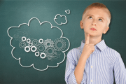 Image representing the news: BSS-0720-A001_Boy with thought cloud cogs